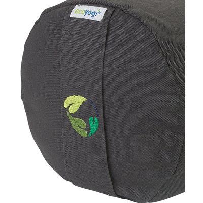 Ecoyogi Yoga Bolster Lava, 100% Bio baumwolle