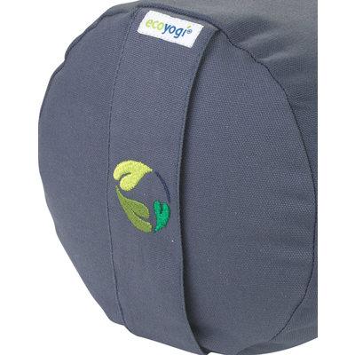 Ecoyogi Yoga Bolster Stone, 100% Bio baumwolle