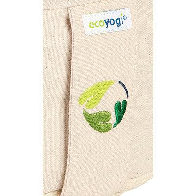 Ecoyogi Meditationskissen rund Natur 100% Bio Baumwolle