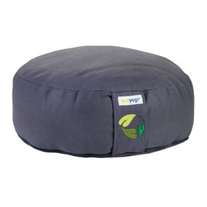 Ecoyogi Meditationskissen Stone - 10-12 cm - 100% Bio Baumwolle