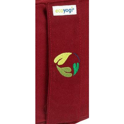 Ecoyogi Meditationskissen Ruby - 18-20 cm - 100% Bio Baumwolle