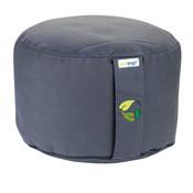 Ecoyogi Meditationskissen Stone - 18-20 cm - 100% Bio Baumwolle