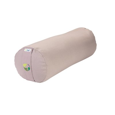 Ecoyogi Yoga Bolster Sand, 100% Bio baumwolle
