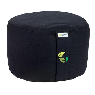Ecoyogi Meditationskissen Dunkelblau - 18-20 cm - 100% Bio Baumwolle