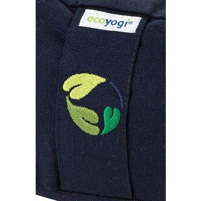 Ecoyogi Meditationskissen Halbmond, Dunkel Blau, 100% Bio Baumwolle - Copy