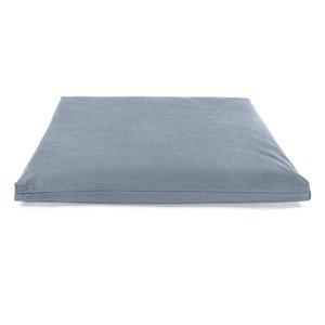 Ecoyogi Meditationsmatte (Zabuton) DeLuxe - Grau