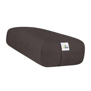 Ecoyogi rectangular Yoga-Bolster – anthrazit