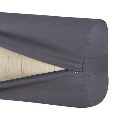 Ecoyogi rectangular Yoga-Bolster – Stone