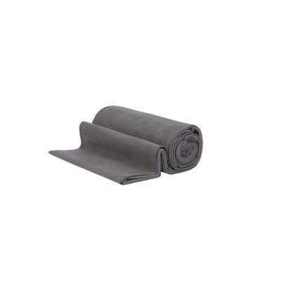 Manduka eQua Towel Thunder 183 cm, Handtuch für Yogamatte