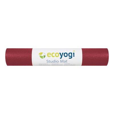 Ecoyogi Studio Yogamatte - 200 cm - Rot