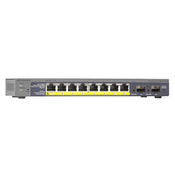 NETGEAR Prosafe GS110TP 8-Poort PoE Gigabit Switch