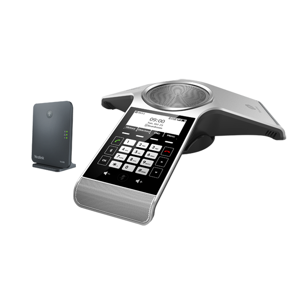 Yealink CP930W Conference telefoon + W60B DECT Station