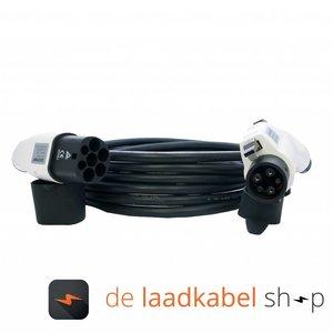 DOSTAR Type 1 - Type 2 Laadkabel 16A 1 fase 6 meter