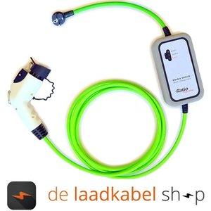 Ratio laadkabels Type 1 female portabel Thuislader Shuko - 10A 1 fase 10 meter