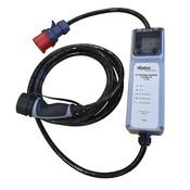 Ratio Type 2 Portable Laadpunt voor Rode CEE stopcontact - 32A 3 fase (5 meter)
