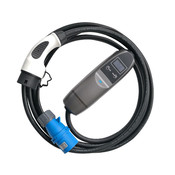 Khons Type 2 Portable Laadpunt met Blauwe CEE - 32A 1 fase plug (5 meter)