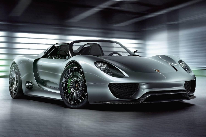 Elektrische auto uitgelicht: Porsche 918 Spyder