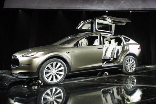 Upcoming: Tesla Model X