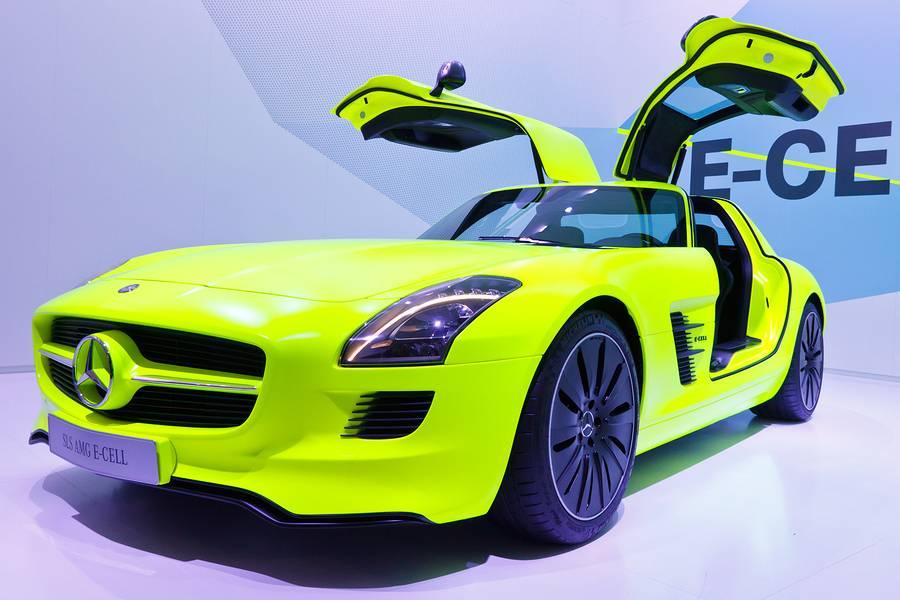 Elektrische auto uitgelicht: Mercedes-Benz SLS AMG Electric Drive