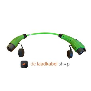 Ratio laadkabels Kabel adapter Type 2 male - Type 1 female 1 meter