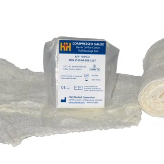 H&H Medical Compressed Gauze (PriMed Gauze)