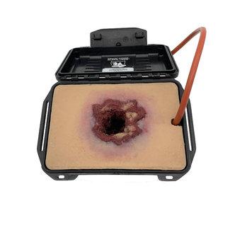 Techline Trauma Gunshotwound in a box
