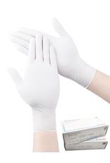 Nitrile Gloves - White (200/box)