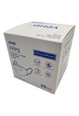 Masques de protection FFP2 (25/pk)