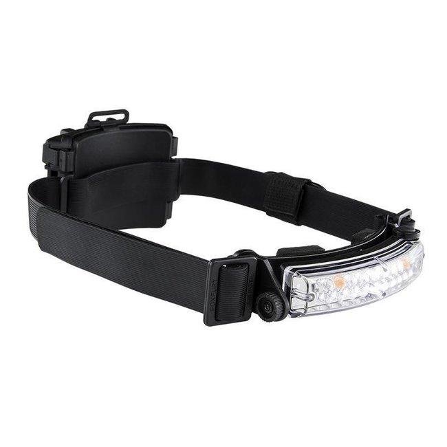 FoxFury Command+ Tilt White&Amber LED Helmet Light