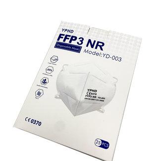 FFP3 Mondmaskers (25/pk)