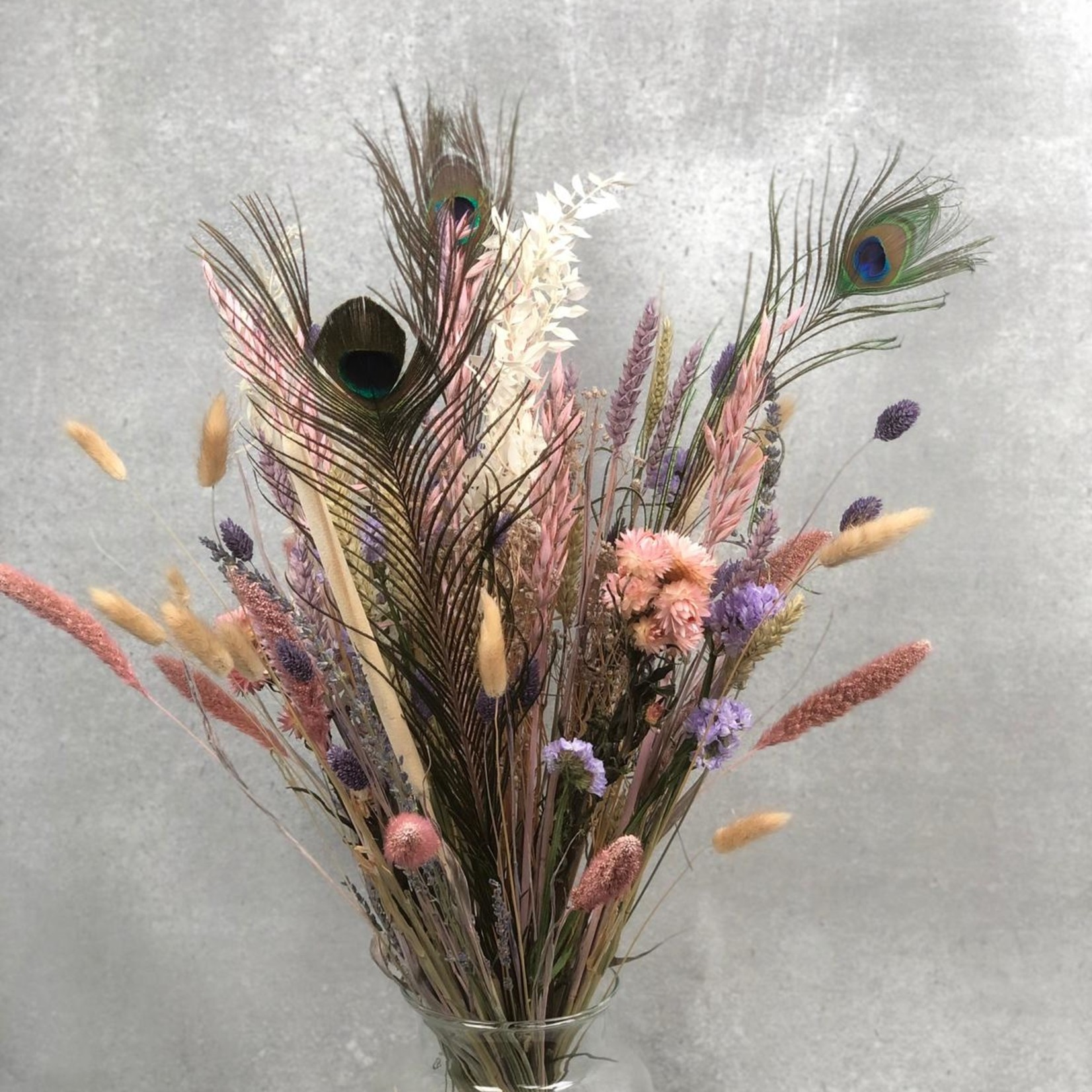 Bouquet of dried flowers Sara - pastel shades