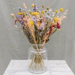 Trockene Blumensträuße