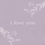 Card I LOVE YOU