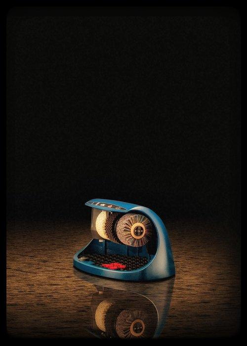 Heute Schoenpoetsmachine Cosmo Blue (RAL 5013)