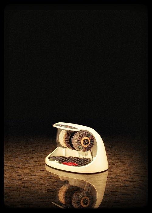Heute Schoenpoetsmachine Cosmo White (RAL 9016)