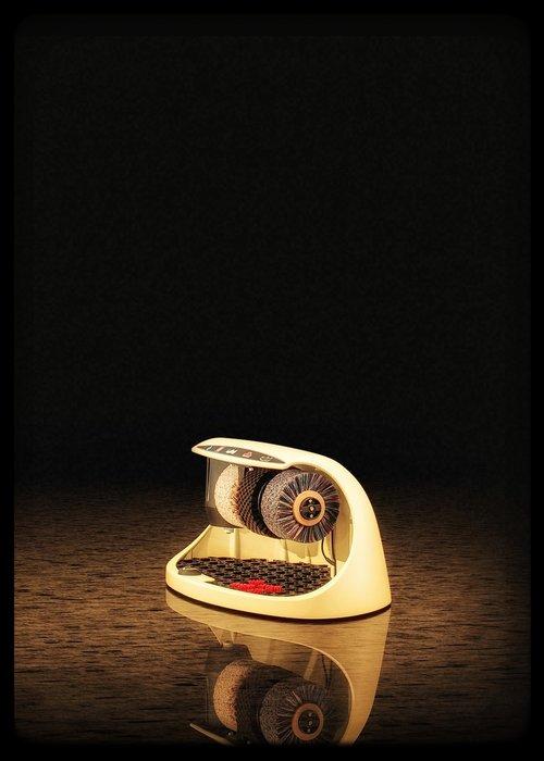 Heute Schoenpoetsmachine Cosmo Light Ivory (RAL 1015)
