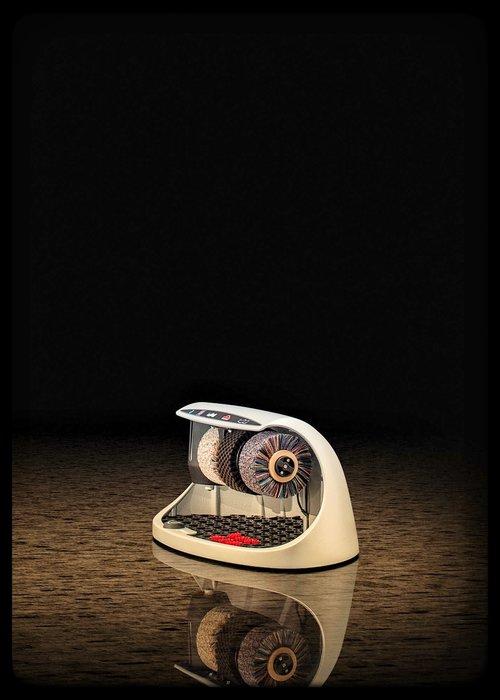 Heute Schoenpoetsmachine Cosmo Silver (RAL 9006)