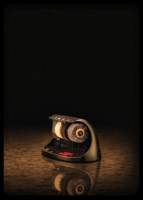 Heute Schoenpoetsmachine Cosmo Black (RAL 9005)