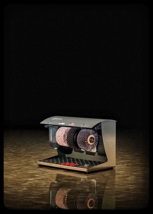 Heute Schoenpoetsmachine Elégance Couleur Graphite (RAL 7022)