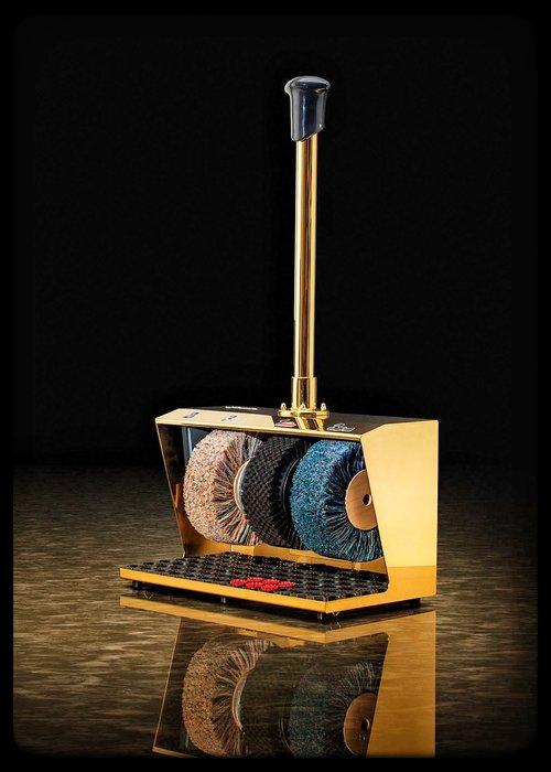 Heute Schoenpoetsmachine Polifix 2: 24 Karat Gold Coated