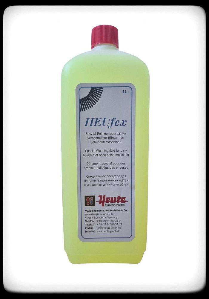 HEUfex speciaal schoonmaakmiddel voor schoenpoetsmachines