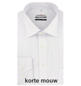 MarVelis MarVelis Comfort Fit wit, New Kent, Korte mouw