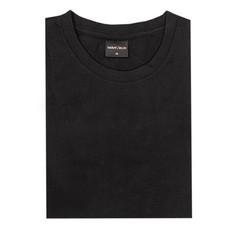 MarVelis MarVelis Single Jersey T-shirt zwart met ronde hals