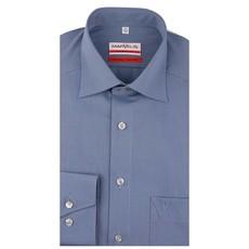 MarVelis MarVelis strijkvrij overhemd Modern Fit blauw, New Kent