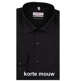 MarVelis MarVelis Comfort Fit zwart, New Kent, Korte mouw