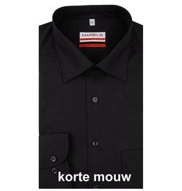 MarVelis MarVelis Modern Fit zwart, New Kent, Korte mouw