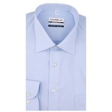MarVelis MarVelis chambray strijkvrij overhemd Comfort Fit blue, New Kent