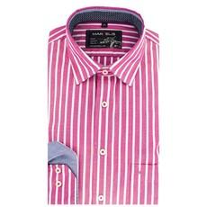 MarVelis Casual overhemd gestreept, New Kent kraag