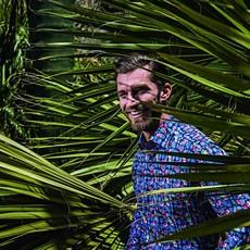 MarVelis MarVelis strijkvrij overhemd bloemetjes print Comfort Fit, New Kent kraag
