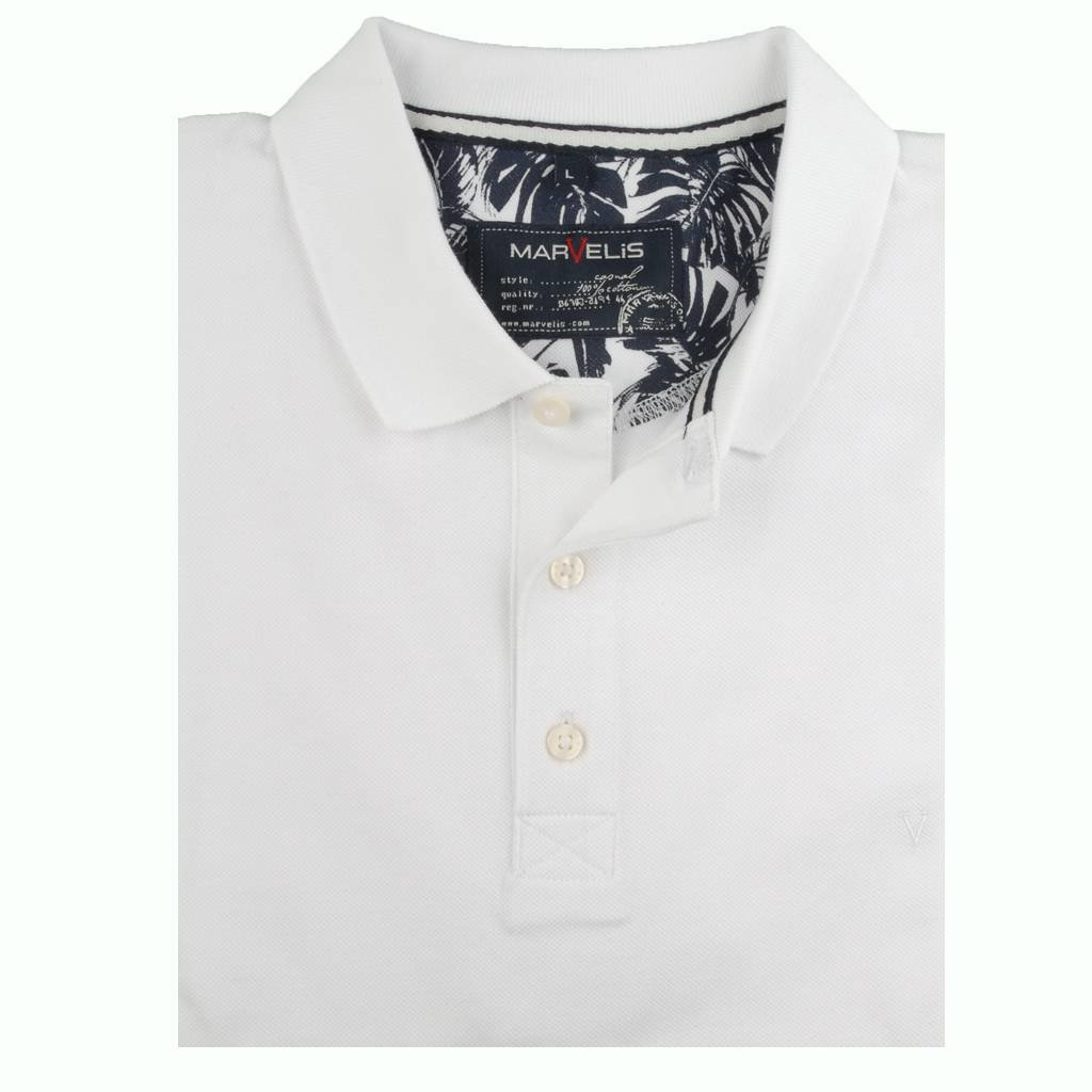 MarVelis MarVelis Polo Wit